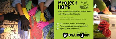 Project HOPE: Make a mosaic mural with Bright Vision...