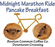 Midnight Marathon Ride Pancake Breakfast