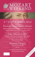 Cherubim Trust Mozart Weekend - Friday 5 Sep