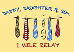 2014 Daddy, Daughter & Son 1 Mile Relay