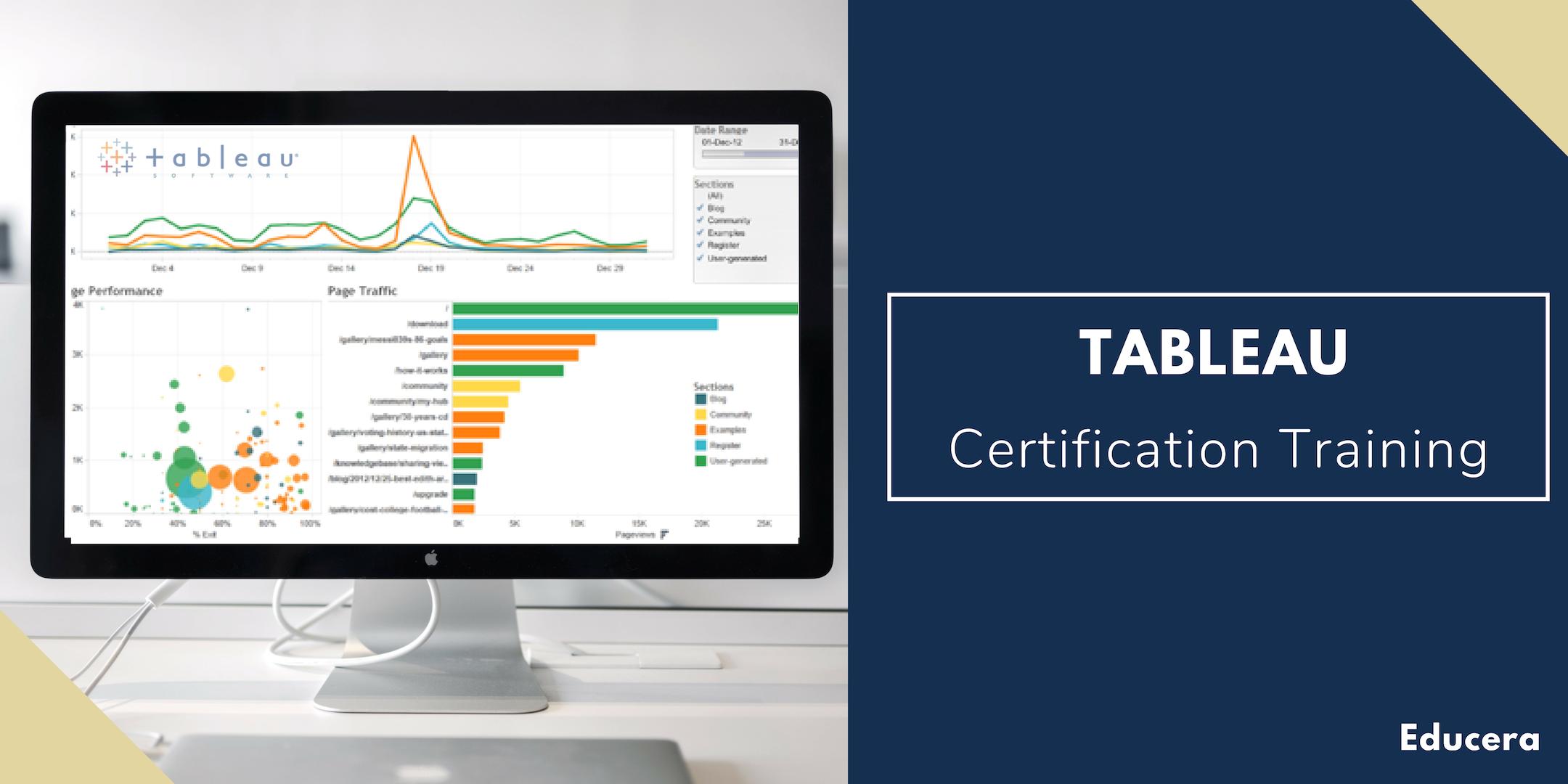 Tableau Certification Training in McAllen, TX