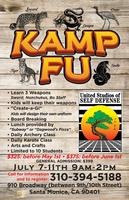 KAMP FU - KARATE SUMMER CAMP