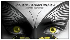 Theatre du Papillon Noire/ Theatre of the Black Butterfly logo