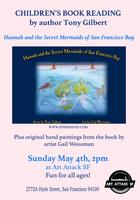 Children's Book Reading by Author Tony Gilbert