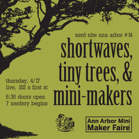 Shortwaves, Tiny Trees, & Mini-Makers