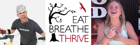 Eat Breathe Thrive Charity Ride with David Zint and Che...