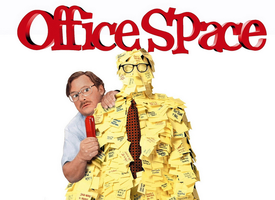 Office Space screening at DrupalCon Austin with Four Ki...