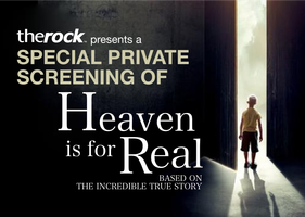 The Rock Private Screening of Heaven is for Real