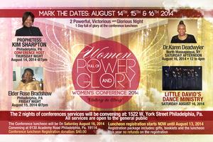 Women full of power and glory conference 2014  Luncheon