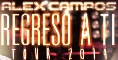 "Alex Campos ""Regreso a Ti"" en Barcelona"