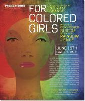 Project1voice BENEFIT 2014 -  For Colored Girls