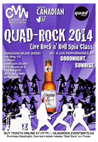 CMW Presents QuadRock2014: A Live Rock n Roll Spin...