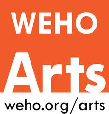 City of West Hollywood's Arts Division - @WeHoArts logo