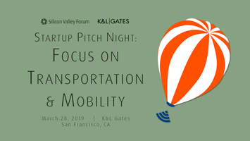 Startup Pitch Night: Focus on Transportation & Mobility