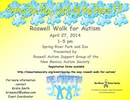"""Paving the Way"" Roswell Walk for Autism"