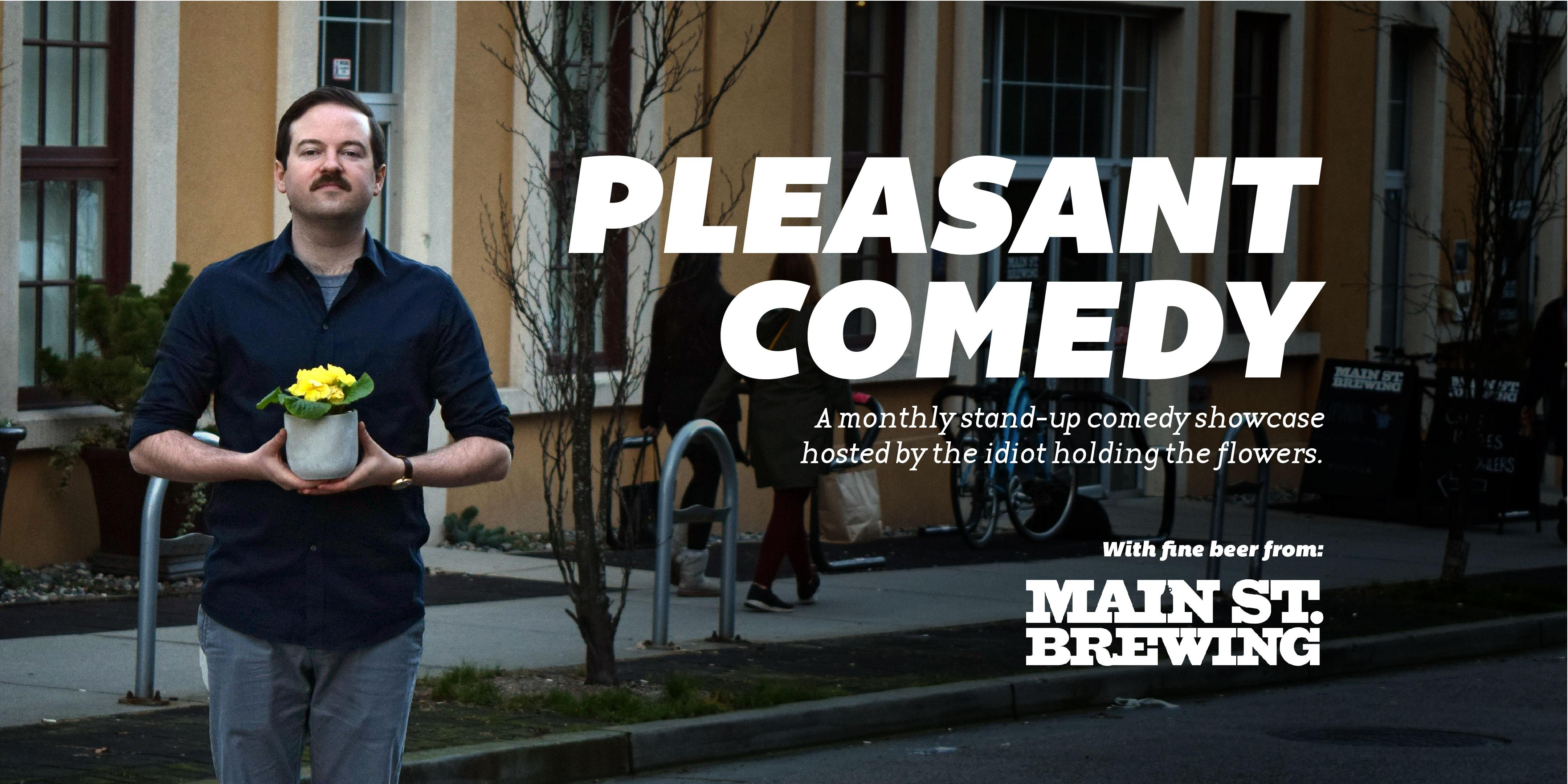Pleasant Comedy: A Night of Stand-Up Hosted by Colin Sharp