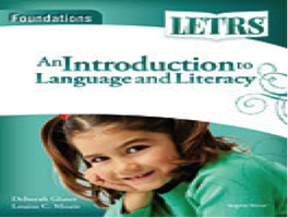 LETRS Foundation 4 Day Training -- May 22, 23, 27, 28,...
