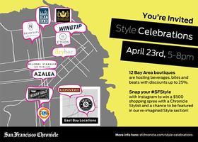 SF Chronicle + Heidi Says :: Style CELEBRATION