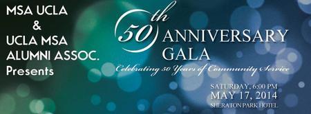 MSA UCLA 50TH Anniversary Gala
