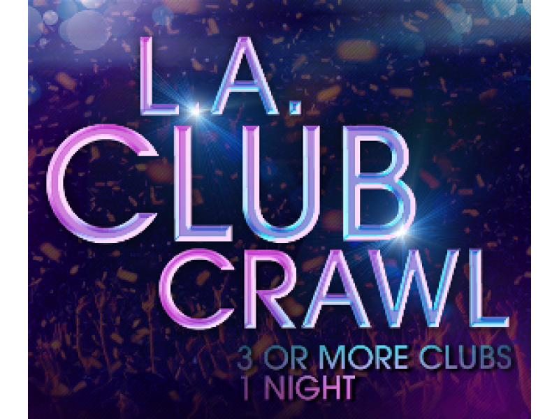 Hollywood bar crawl and nightclub party tour