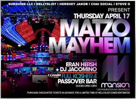 MATZO MAYHEM at MANSION MIAMI BEACH, FL