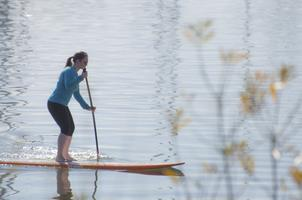 SUP (Stand-Up Paddle-Boarding) Class in Half Moon Bay