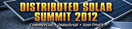 Infocast's Distributed Solar Summit 2012