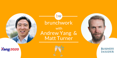 Andrew Yang (2020 U.S. Presidential Candidate): brunchwork After Hours