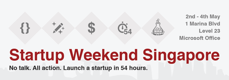 Singapore Startup Weekend May 2014
