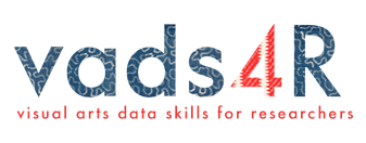 Visual Arts Data Skills for Researchers Workshop...