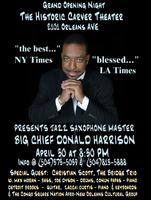 Big Chief Donald Harrison @ Carver Theater