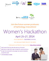 Join the International Women's Hackathon, April 25–27,...
