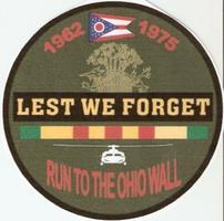 Sixth Annual Run to Ohio Memorials, Wall & Rally