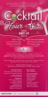 Sip With Socialites' September Cocktail Hour to...