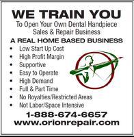We Train You Seminar - Dental Handpiece Lab Practice
