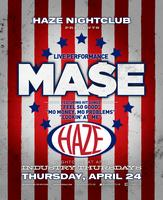 MA$E Performs Live @ HAZE Nightclub