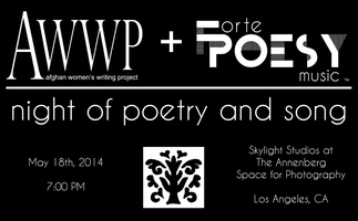Afghan Women's Writing Project + Forte Poesy: Night of...