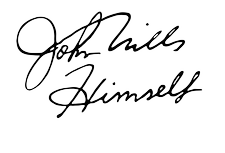 John Mills Himself - Bar logo