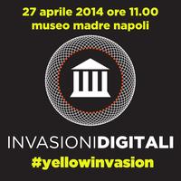#invasionidigitali #yellowinvasion Museo Madre Napoli