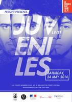 PERONI presents JUVENILES LIVE!