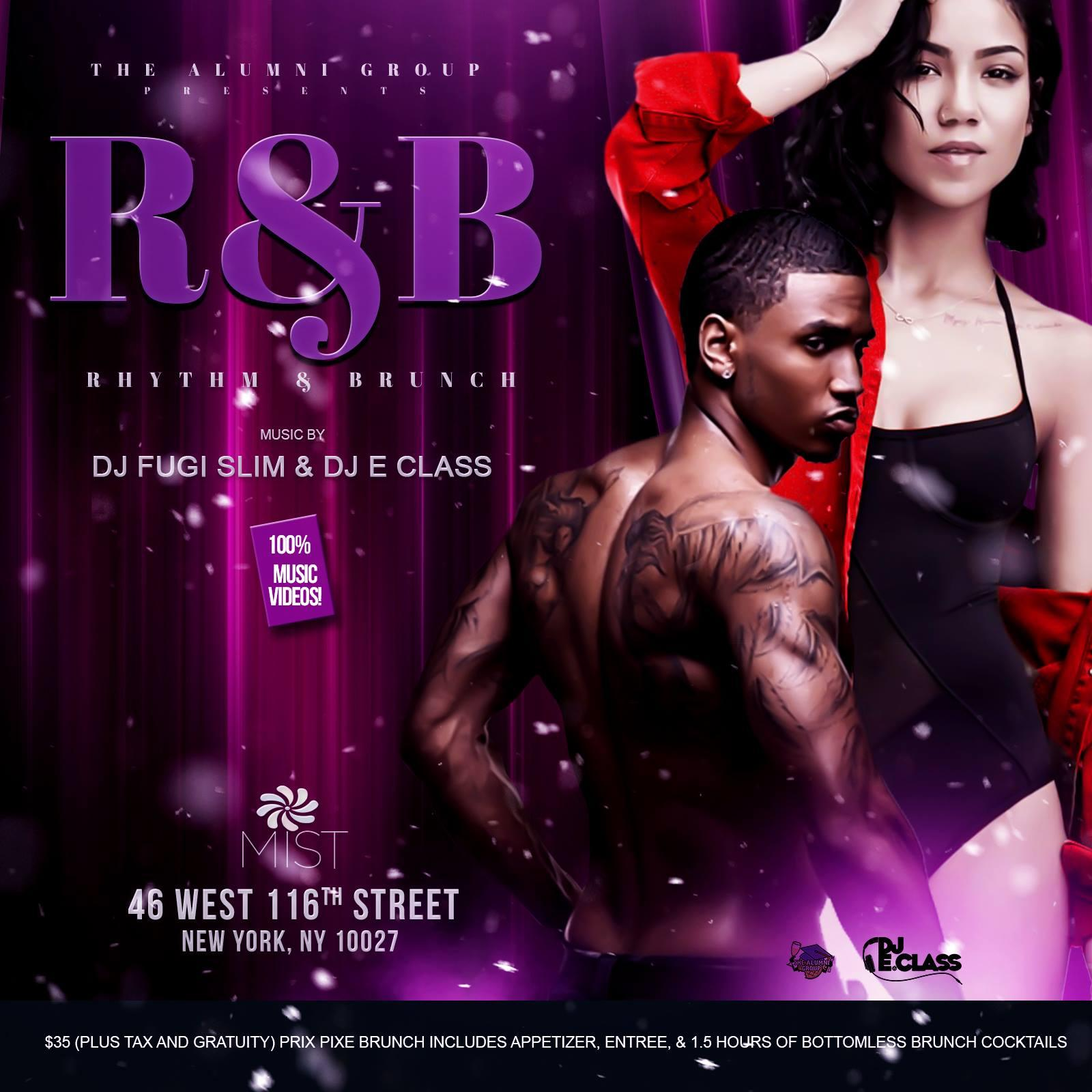 Rhythm & Brunch: The All R&B Brunch & Day Party
