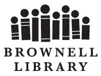 Brownell Library logo