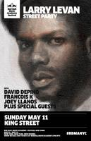 Larry Levan Street Party RSVP Page
