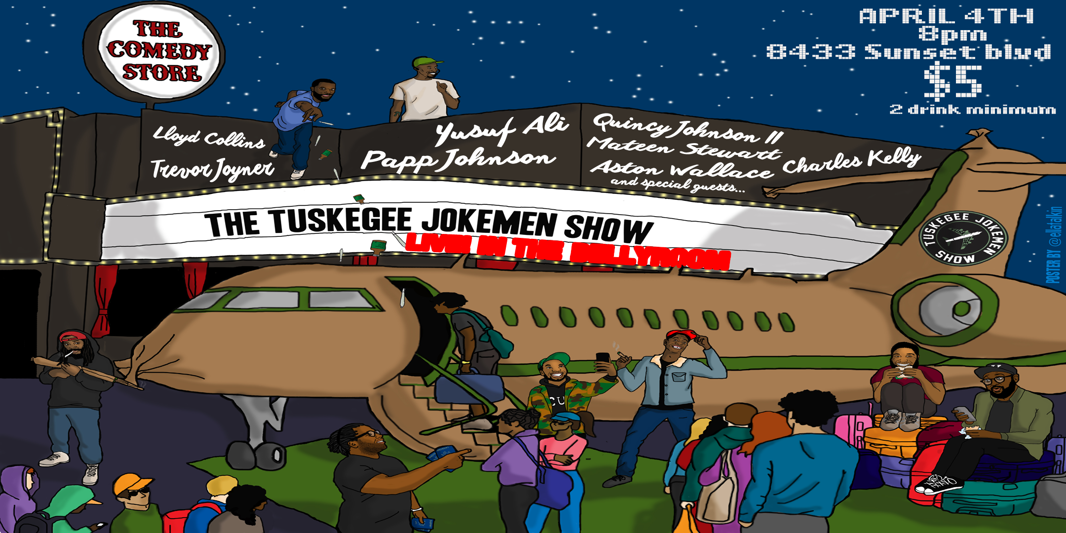 The Tuskegee Jokemen Show