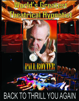 Paul Royter - Back to Thrill you again May 14th in...