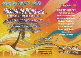 MUSICAL DE PRIMAVERA