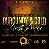 Burgundy & Gold Draft Party Hosted by the Washington...