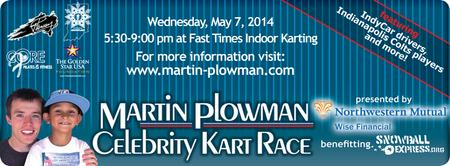 Martin Plowman's Celebrity Kart Race - Benefitting...