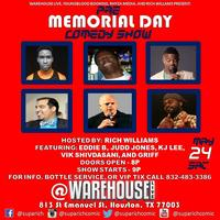Pre Memorial Day Comedy Show at Warehouse Live