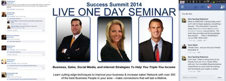 Success Summit Seminar Houston, TX - 3/4/2015